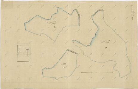Geometrický plán rybníků Bošilec, Ponědráž a Švarcenberk