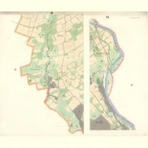Ostrawitz - m2189-1-002 - Kaiserpflichtexemplar der Landkarten des stabilen Katasters