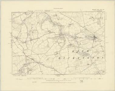 Devonshire XXX.NW - OS Six-Inch Map