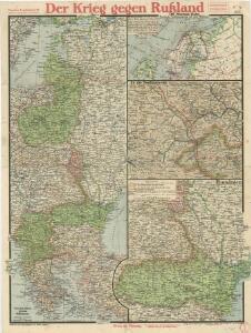 Paasche's Frontenkarte, Nr.16. Der Krieg gegen Russland