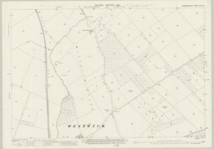 Cambridgeshire XXXIV.13 (includes: Cottenham; Histon; Long Stanton St Michael; Oakington; Rampton; Westwick) - 25 Inch Map