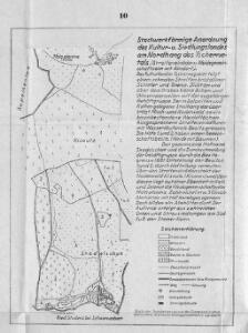 Stockwerkförmige Anordnung des Kultur- und Siedlungslandes am Nordhang des Tschernatals