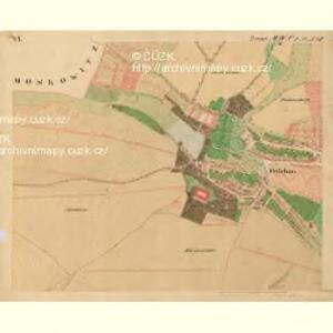 Frischau - m0269-2-007 - Kaiserpflichtexemplar der Landkarten des stabilen Katasters