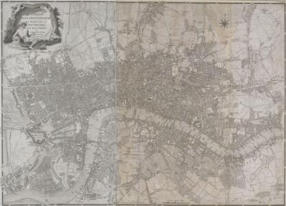 A PLAN of the CITIES of LONDON & WESTMINSTER, THE BOROUGH OF SOUTHWARK and their Suburbs BY WILLIAM FADEN Geogr to the King MDCCLXXXV