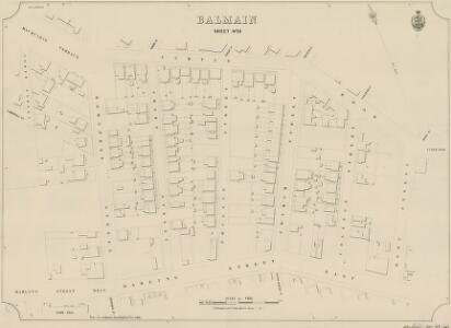 Balmain, Sheet 29, 1888