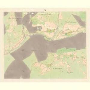 Unter Beczwa (Dolni Beczwa) - m0477-1-006 - Kaiserpflichtexemplar der Landkarten des stabilen Katasters