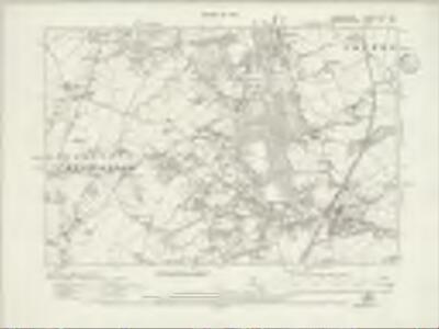 Warwickshire XXIVa.NW - OS Six-Inch Map