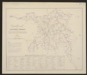 Nivellements-Karte des Cantons Aargau