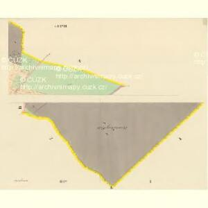Dobrzegitz - c1204-1-001 - Kaiserpflichtexemplar der Landkarten des stabilen Katasters