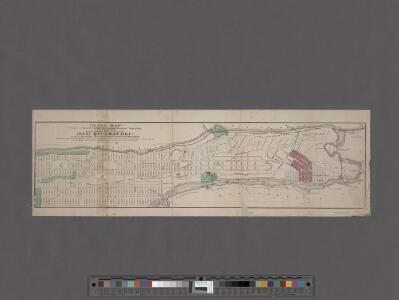 Guide Map to 92 Acres of Land at Washington Heights in the 12th Ward of the City of New York to be sold by the executors of Isaac Dykman Decd.