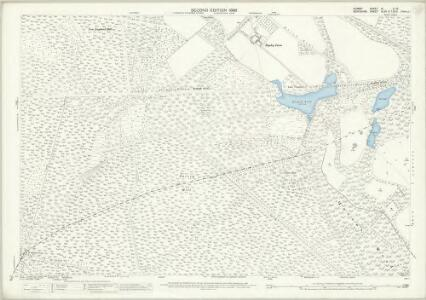 Surrey IX.11 & 12 (includes: Crowthorne; Easthampstead; Frimley; Windlesham; Winkfield) - 25 Inch Map