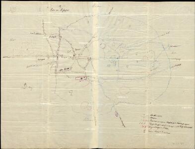 Plan von Bijapur.