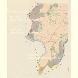 Katscher (Katčerov) - c2962-1-002 - Kaiserpflichtexemplar der Landkarten des stabilen Katasters