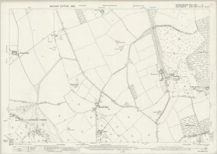 Buckinghamshire XXXV.13 (includes: Cholesbury cum St Leonards; Northchurch; Tring Urban; Wigginton) - 25 Inch Map