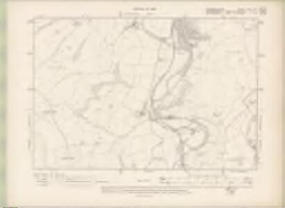 Edinburghshire Sheet XXV.NE - OS 6 Inch map
