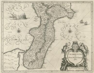 Calabria Vltra olim Altera Magnae Graeciae pars