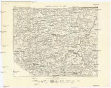 Podrobná mapa Království českého