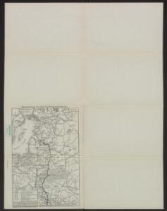 Übersichtskarte des Östlichen Kriegsschauplatzes