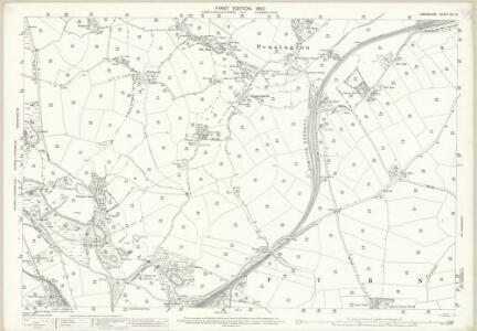 Lancashire XVI.6 (includes: Dalton In Furness; Pennington; Ulverston) - 25 Inch Map