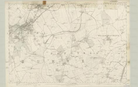 Surrey XIX - OS Six-Inch Map