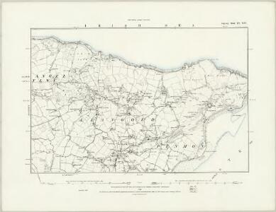 Anglesey XV.SW - OS Six-Inch Map