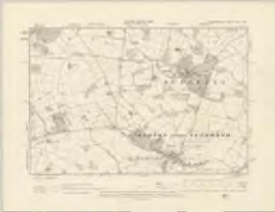 Staffordshire XLVII.NW - OS Six-Inch Map