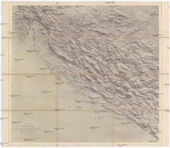 G. Freytags Reisenkarte von Dalmatien, Bosnien und der Hercegovina