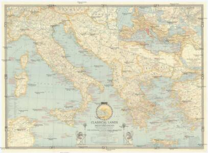 Classical lands of the Mediterranean