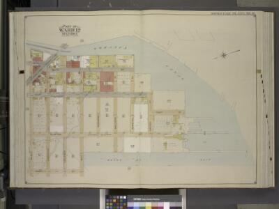 Brooklyn, Vol. 1, Double Page Plate No. 13; Part of   Ward 12, Section 2; [Map bounded by Gowanus Canal, Henry St., Bush St.;          Including  Court St., Hamilton Ave., Smith St.]