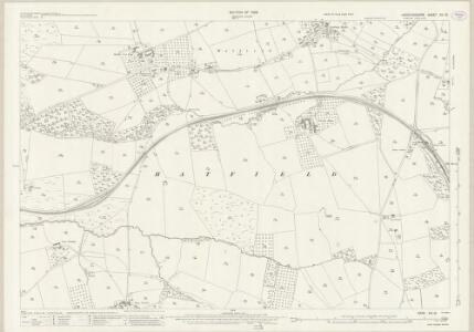 Herefordshire XIII.15 (includes: Hampton Charles; Hatfield; Thornbury; Wacton) - 25 Inch Map