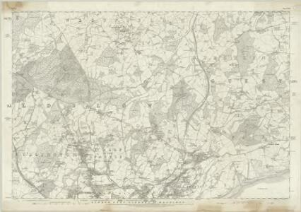 Sussex LVIII - OS Six-Inch Map