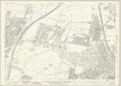 Lancashire CXI.1 (includes: Manchester; Sale; Stretford) - 25 Inch Map