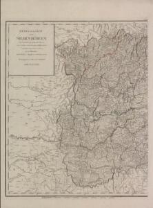 Generalkarte Von Siebenbürgen. Nach geometrisch gemessenen Karten und andern zuverlaessigen Hilfsmitteln verjüngt, und graduirt von Herrn A. von Wenzely. Herausgegeben von Herrn F. A. Schraembl