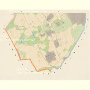 Mosteczna - c4847-1-002 - Kaiserpflichtexemplar der Landkarten des stabilen Katasters