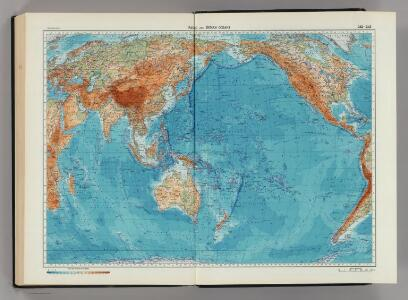 242-243.  Pacific and Indian Oceans.  The World Atlas.