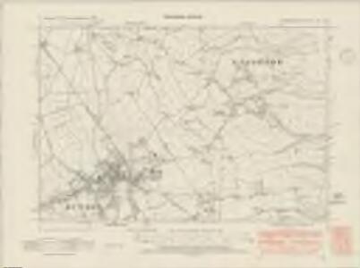 Denbighshire XIX.NE - OS Six-Inch Map