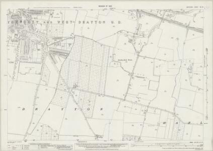 Middlesex XIV.16 (includes: Harlington; Yiewsley and West Drayton) - 25 Inch Map