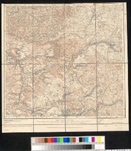 Meßtischblatt [105] : Am Raumberg (Berg in der Sächs. Schweiz), 1935