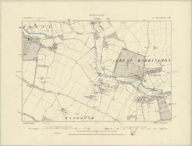 Gloucestershire XXIX.SE - OS Six-Inch Map