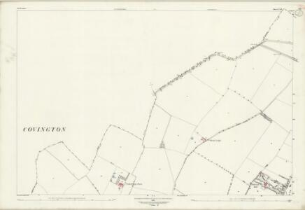 Bedfordshire II.5 & 9 (includes: Brington and Molesworth; Bythorn and Keyston; Catworth; Covington; Tilbrook) - 25 Inch Map