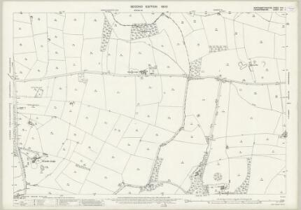 Northamptonshire XXIII.1 (includes: Husbands Bosworth; Marston Trussel; Sibbertoft; Sulby) - 25 Inch Map