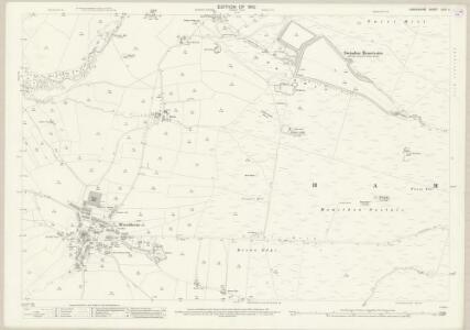 Lancashire LXIV.4 (includes: Briercliffe; Worsthorne With Hurstwood) - 25 Inch Map