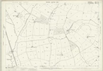 Oxfordshire XIII.3 (includes: Chastleton; Evenlode; Longborough; Moreton in Marsh) - 25 Inch Map