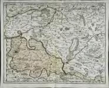 Le Cambresis comté et le duché de Cambray, avec le marq.at du chasteau de Cambray
