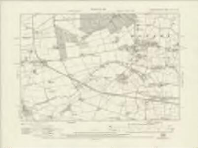 Worcestershire XLVII.NW - OS Six-Inch Map