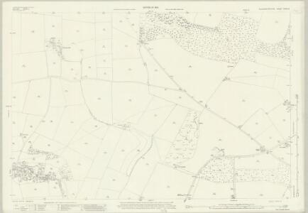 Gloucestershire XXVIII.3 (includes: Naunton; Upper Slaughter) - 25 Inch Map