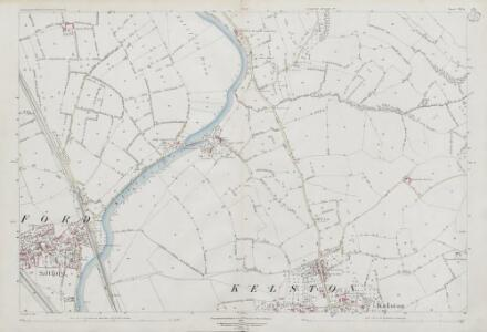 Somerset VII.15 (includes: Kelston; Keynsham; North Stoke) - 25 Inch Map