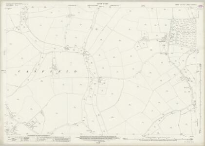Essex (New Series 1913-) n XXXIII.14 (includes: Great Canfield; Little Canfield) - 25 Inch Map