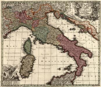 Nova et exactissima Italiae, Sardiniae et Corsicae