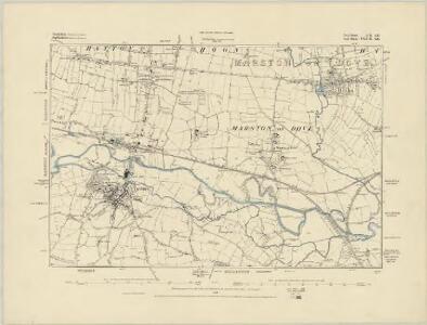Derbyshire LII.NE - OS Six-Inch Map